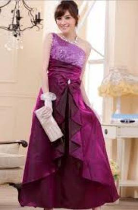 Contoh Baju Gaun pesta Mewah Brokat Modern Terbaru