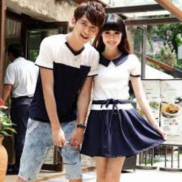 Model baju kembar sama pasangan kekasih Terbaru