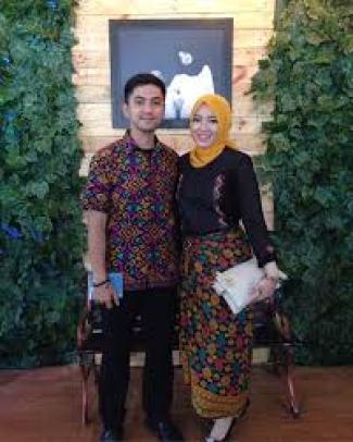 model baju couple pasangan sama pacar untuk kondangan Terbaru