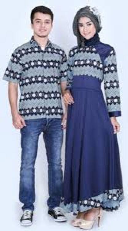 Contoh Batik couple Keluarga Pekalongan Terbaru