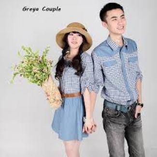 Model baju kembar pasangan kekasih