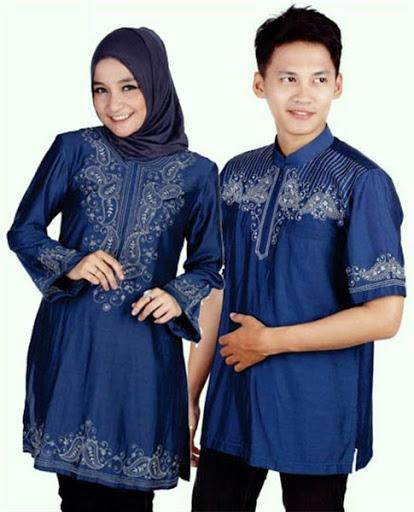 Model Baju Muslim Pesta Couple Keluarga Modern
