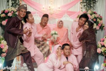 Model Baju Muslim Kebaya Seragam Keluarga Untuk Pernikahan Terbaru