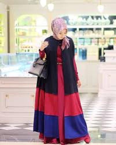 Contoh Model Busana Muslim Untuk Lebaran Terbaru