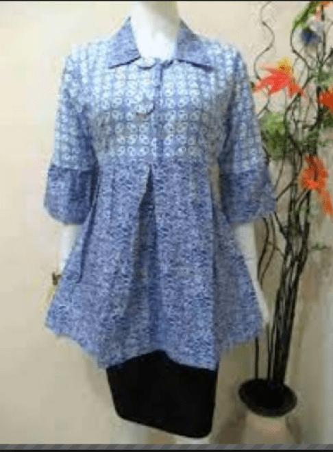 Model baju Batik Wanita muda Terbaru