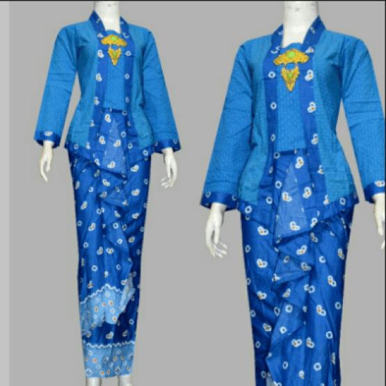 model dress batik kerja untuk orang kurus