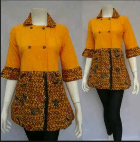Model Batik Wanita Terbaru