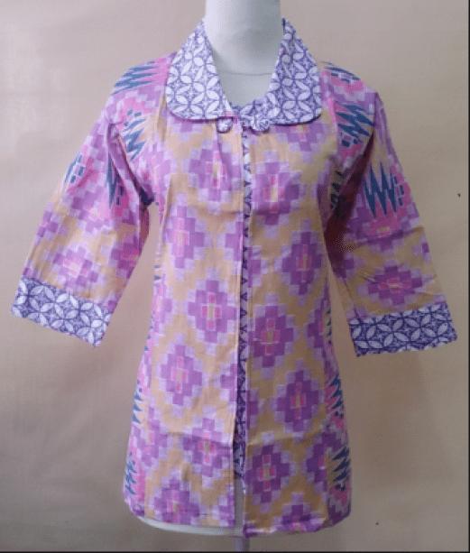 baju batik kerja pramugari