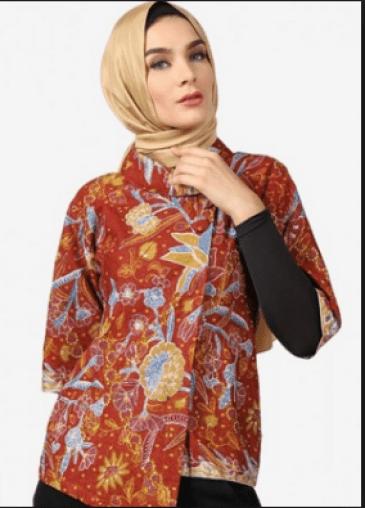 Baju Batik Solo Seragam Kantor