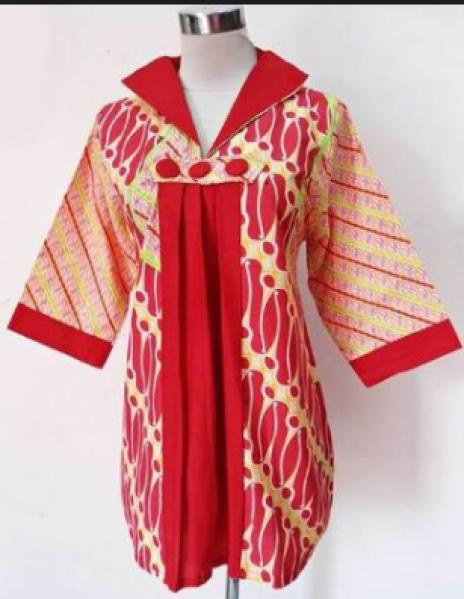50 Model Baju Batik Wanita Terbaru 2020 Atasan Lengan