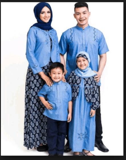Model baju keluarga untuk pesta pernikahan terbaru