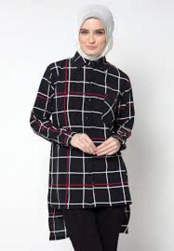 Baju wanita modis lengan panjang