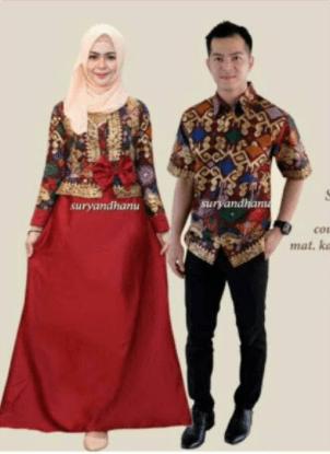 Baju gamis couple remaja terbaru