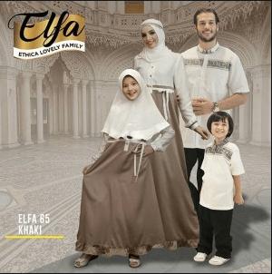 Contoh Baju Muslim Seragam Keluarga