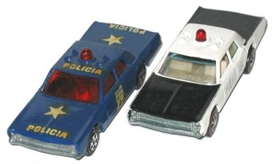 Muky Nr. 24: Policia, with Hot Wheels Police Cruiser