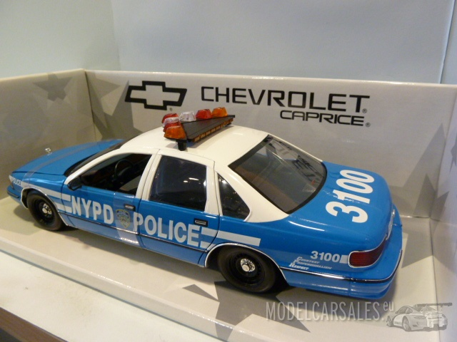 Chevrolet Caprice New York Police 1:18 180142097 Ut Models