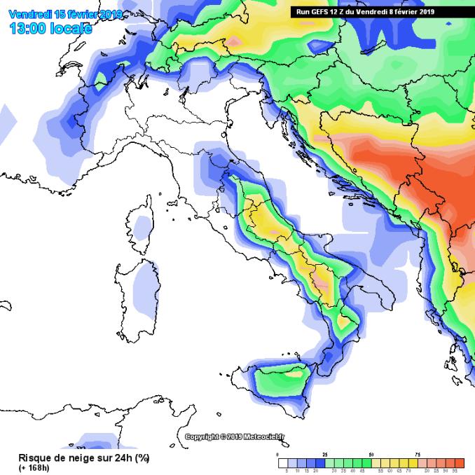 Arriverà freddo da est? Previsioni probabilistiche