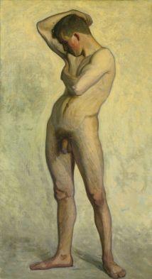 Modèle nu masculin (circoncis)