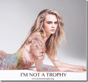 I'm not a trophy