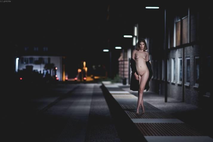 Je marche dans la nuit