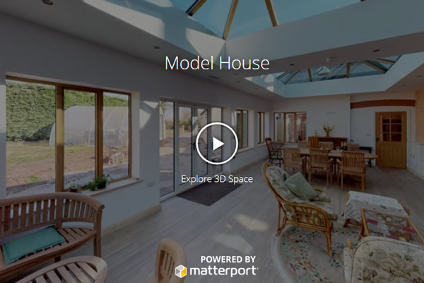 360 degree tour of self catering group house accommodation