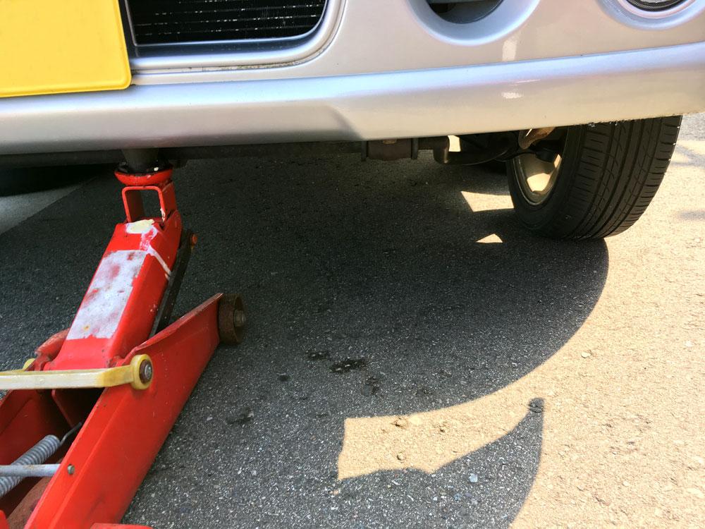 アルトワークス(HA12S) タイヤ交換