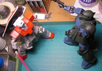 HGUC RGM-79 ジム 09-01