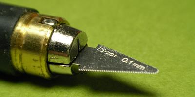 コトブキヤ M.S.G エッチングツール No.ES-001A モデリングノコ 1 (0.1ミリ厚)