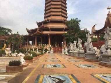 A beautiful temple in Bangkok