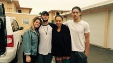 Alex, Trace, Me, Trev