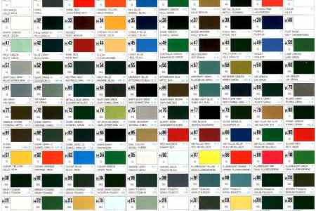 Mr Hobby Paint Color Chart Todayss