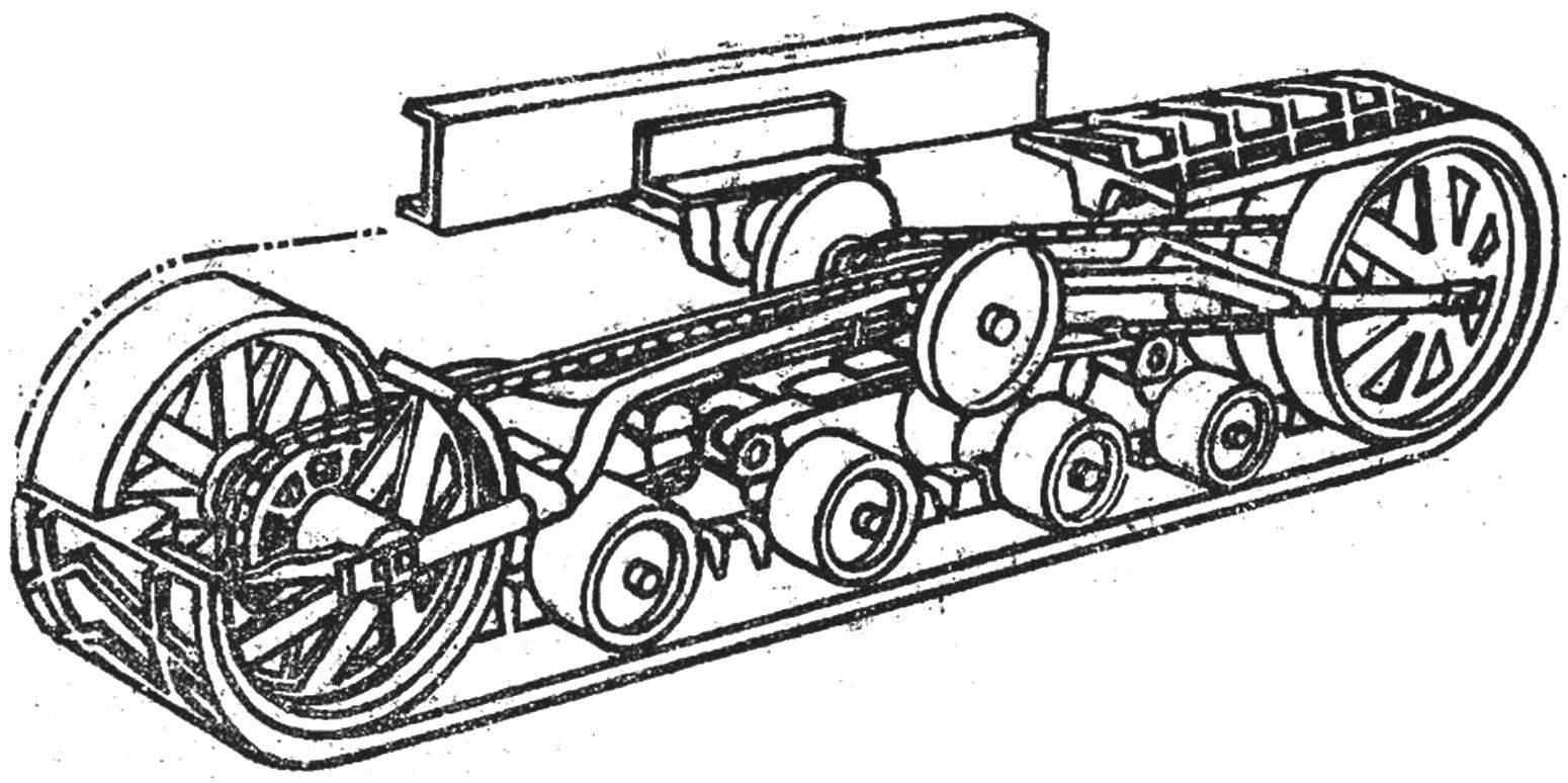 Relay Half Track Vehicles