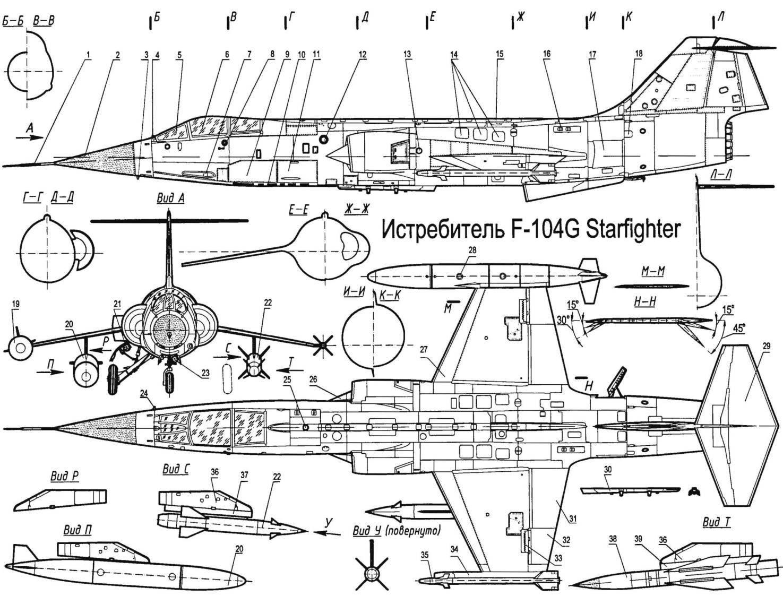 F 104 Star Fighter