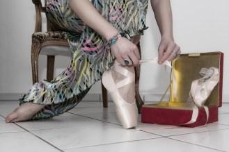 Ballett shoe that travels