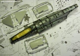 Pre shaded fuselage