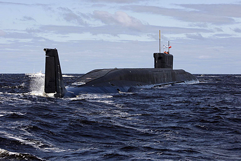 New Russian Submarine