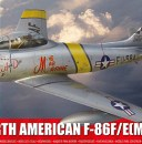 North American F-86F Sabre from Airfix