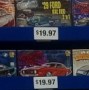 More Revell model kits at Walmart