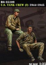 B6-35109 U.S. Tank Crew (2) 1944-45