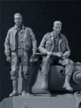 B6-35110 U.S. Tank Crew (3) 1944-45