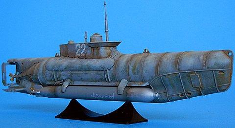 ICM 1/72 German Midget Submarine