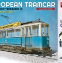 Miniart European Tram with  Crew & Passengers 38009