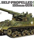 Tamiya US Self-Propelled 155mm Gun – M40