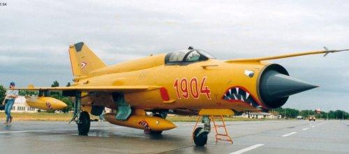 Hungarian Air Force Mig-21 MF