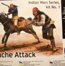 "Master Box ""Indian Wars Series"" No. 1: Apache Attack in 1/35th Scale MB35188"