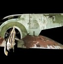 Movie Prop: Studio Scale Slave 1 up close and personal
