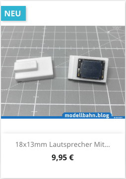 18x13mm Lautsprecher Smt spezial Resonazkoerper für Roco TRAXX2
