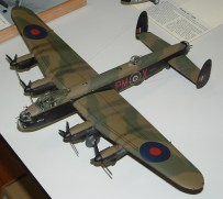 Dads Lancaster top view