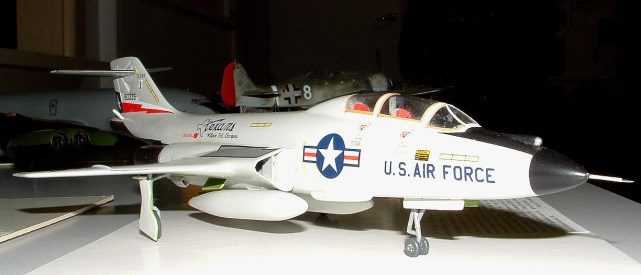 Leighs' F-101B Voodoo nose view