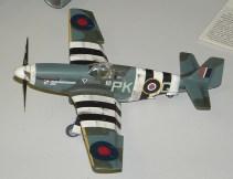 Wayne's P-51B RAF side view